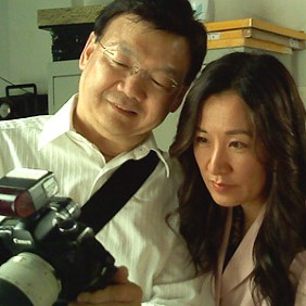Photographer, Charles Ng with Feng Shui Master, Jenny Liu