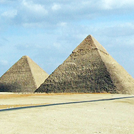 Two of the Pyramids of Giza